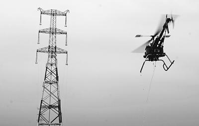 是目前世界上最高电压等级,容量最大,且是首条同塔双回路线路工程.
