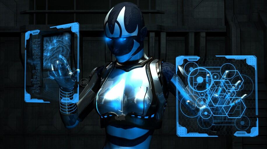 人工智能机器人_人工智能和机器人蓝鲸科学