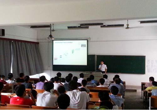 trol 中国自动化大奖赛 东南大学成贤学院校园行顺利举办高清图片