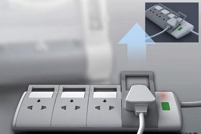 新奇概念设计:可单手拔插的插座-中国工业电器网