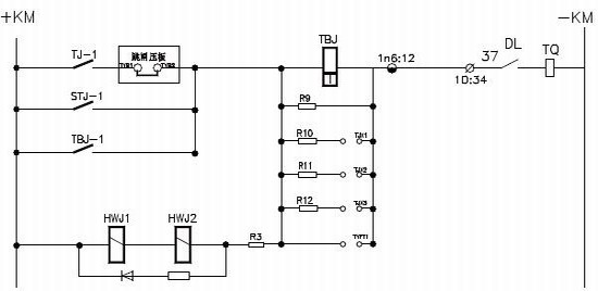 控制回路电阻重新整定