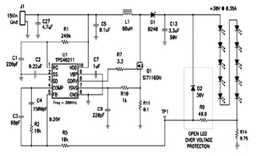 简单的led开路故障保护电路设计-中国工业电器网