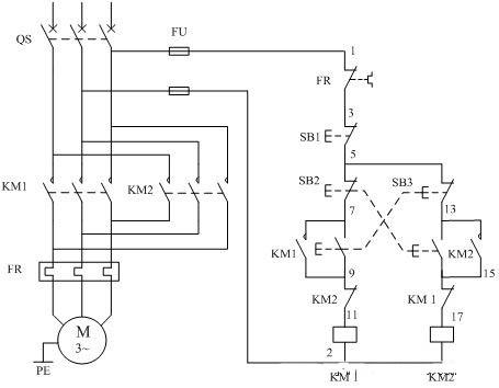 电动机可逆运行控制电路-中国工业电器网