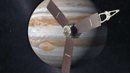 太阳能航天器飞往木星